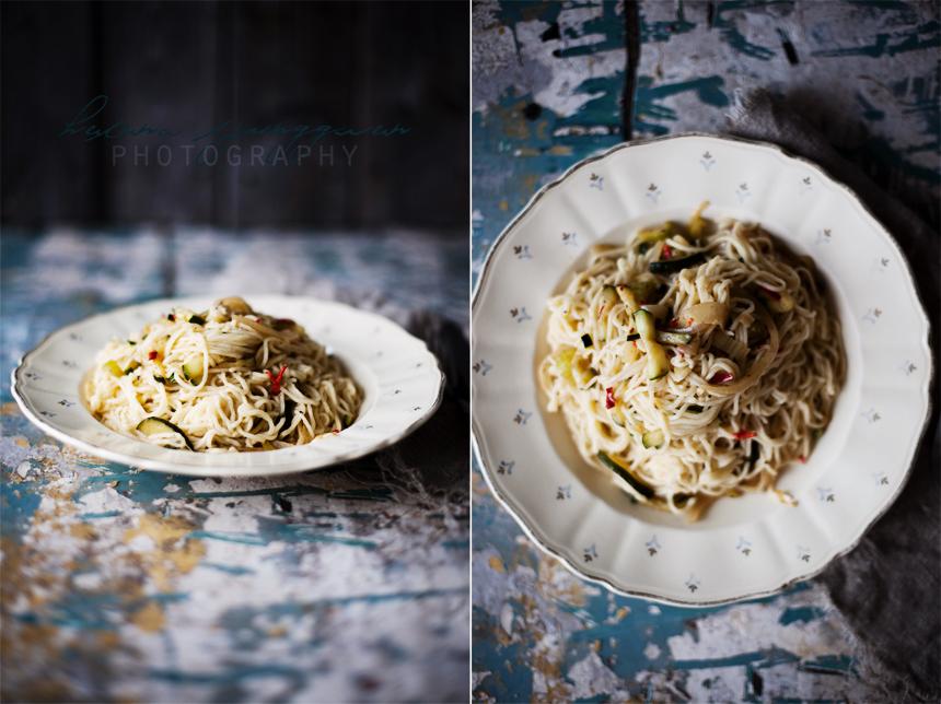 Hemmagjord spagetti