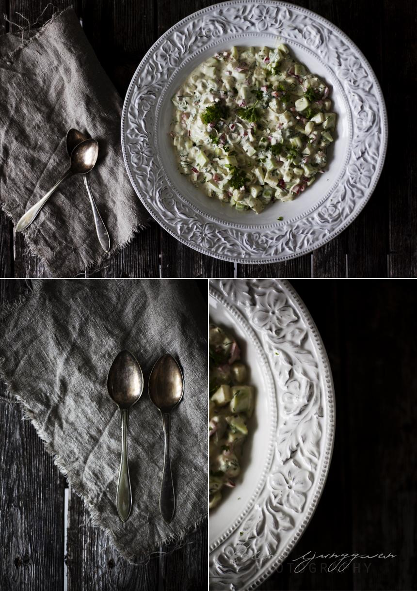 zucchinisallad