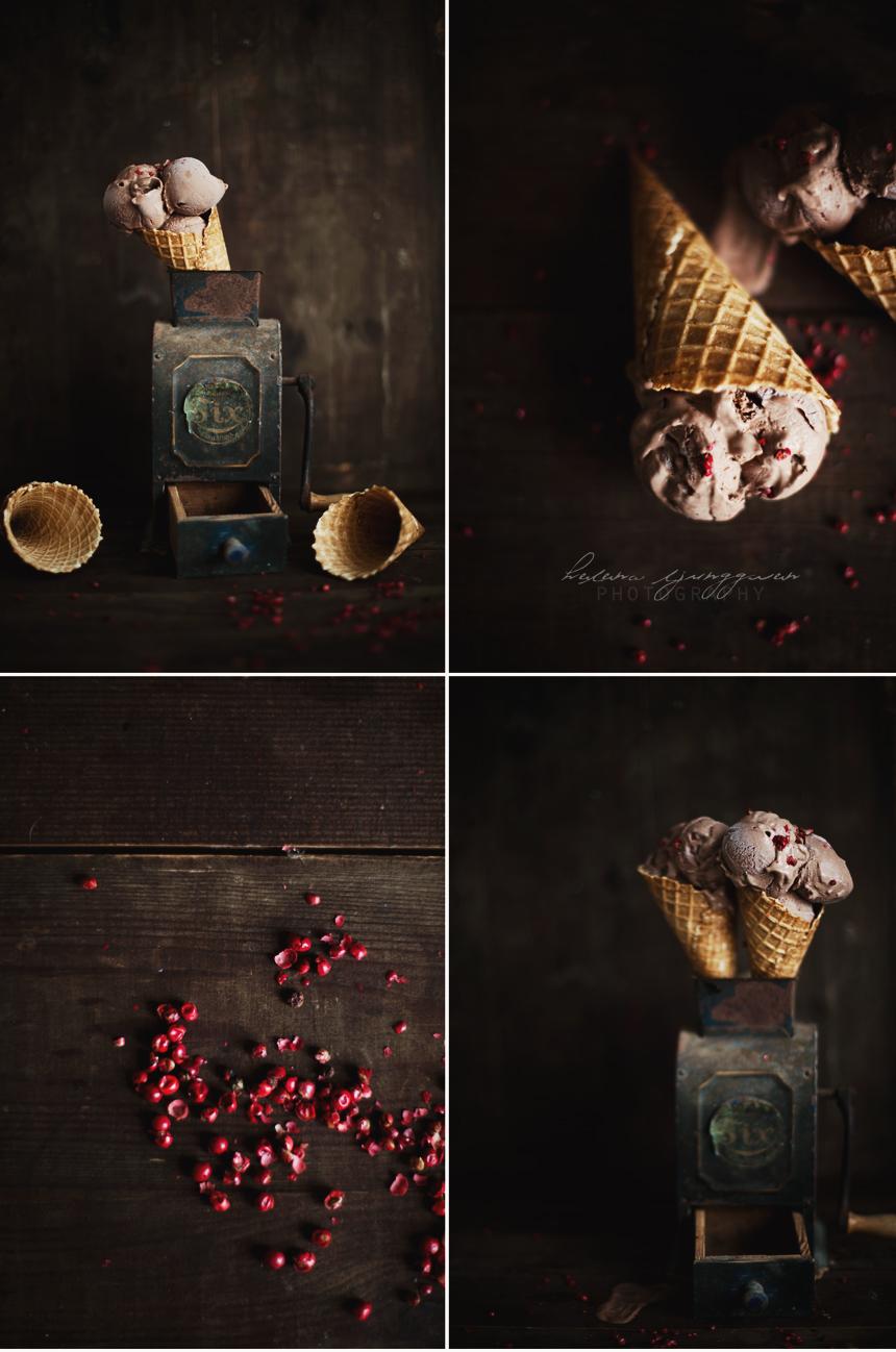 choklad & rosépeppar