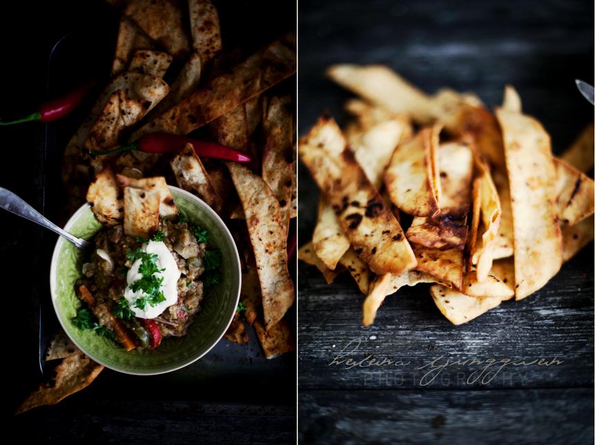linsgryta & nachos