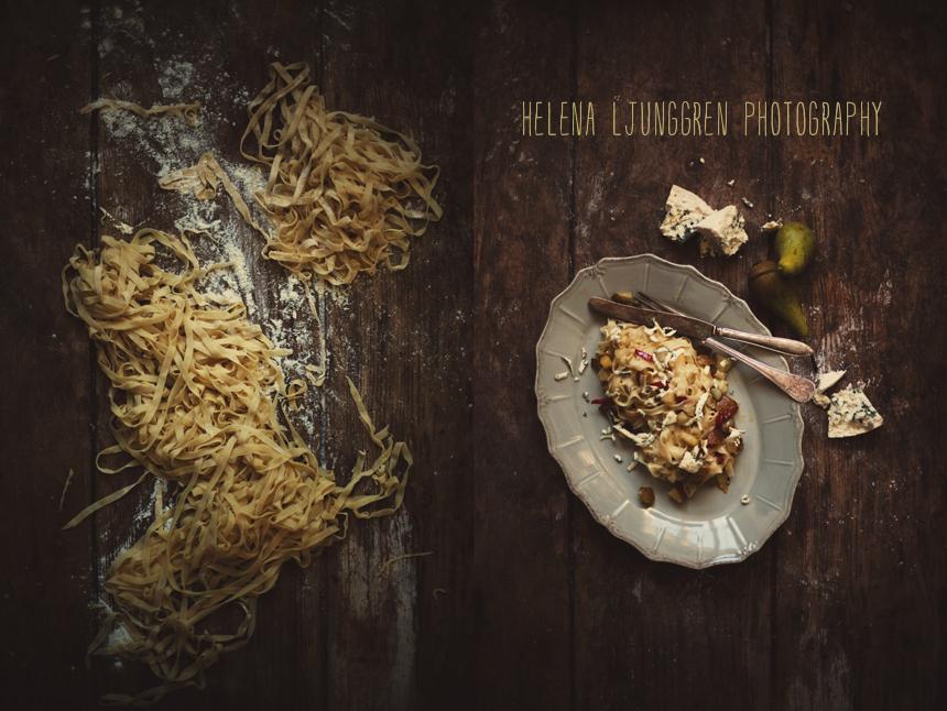 pasta och päron