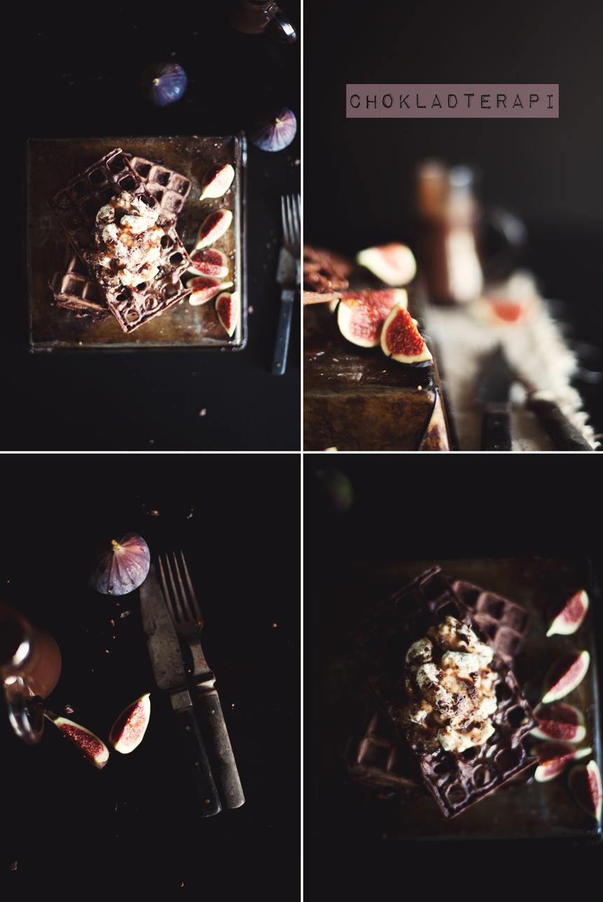 chokladvåffla